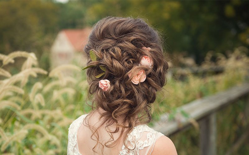 Brides & Bridal Parties - great bridal hair